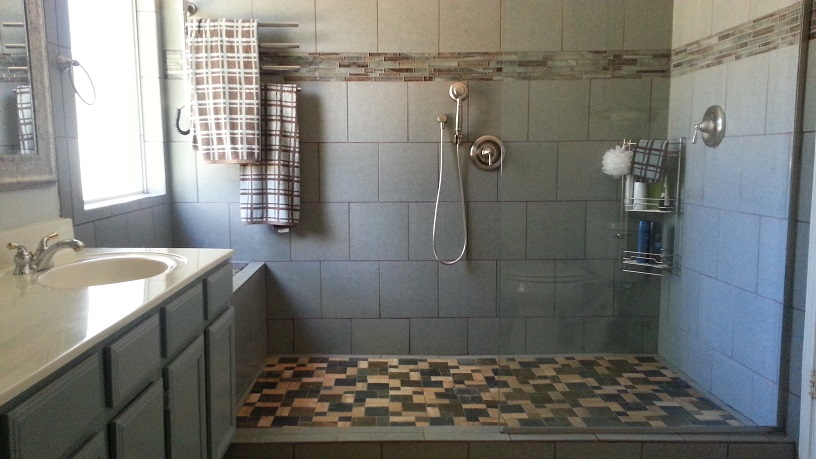 Bathroom Ideas Replace Tub With Shower : Tileshowers